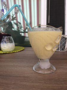 smoothie en copa